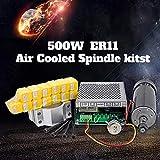 Konmison 1Set Mini CNC Lathe Air Cooled 500W