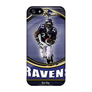 Iphone 5/5s Case Slim [ultra Fit] Baltimore Ravens Protective Case Cover