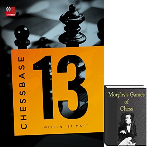 ChessBase 13 Premium Package with Morphy's Games of Chess E-Book (2 item bundle)