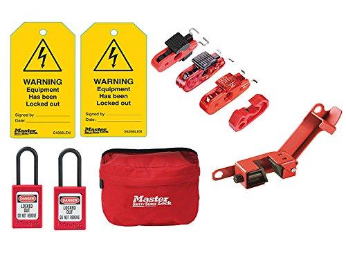 MasterLock Electrical Lockout / Tagout Kit