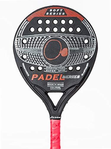 PADELSERIES - Soft Series Red - Pala de Pádel Resistente ...