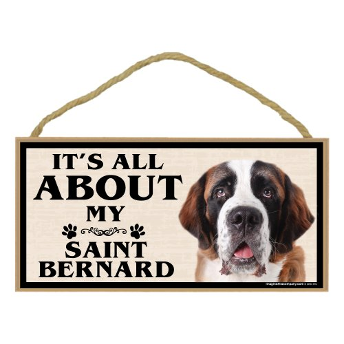 Imagine This Wood Breed Sign, It's All About My St. ()