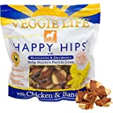 Veggie Life Happy Hips Dog Treat Chicken/Banana, My Pet Supplies