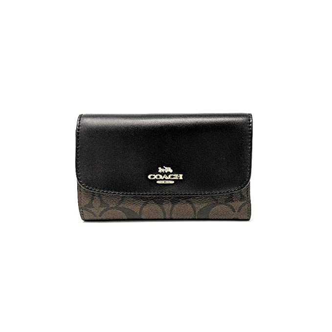 Amazon.com: COACH MEDIUM Sobelop Cartera Cartera Cartel de ...