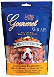 Loving Pets All Natural Premium Carrot and Chicken Wraps with Glucosamine and Chondroitin Dog Treats, 6-Ounce, My Pet Supplies