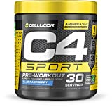 Best Workout Powders - Cellucor C4 sport pre-workout powder, blue raspberry, 30 Review