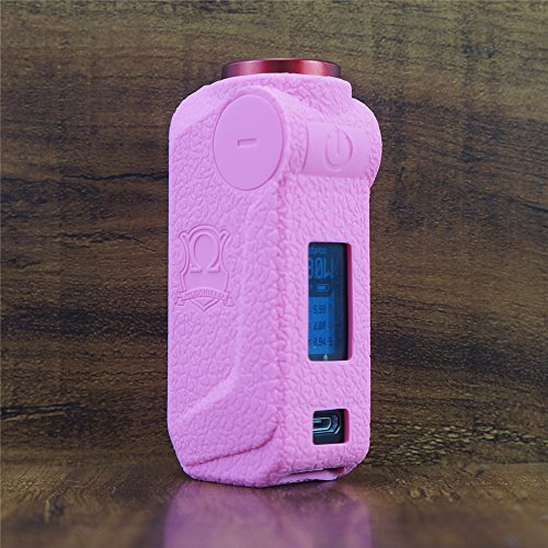 ModShield for VOOPOO MOJO Silicone Case ByJojo Cover Shield Protective Sleeve Wrap Skin (Pink)