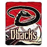 "Officially Licensed MLB Arizona Diamondbacks Big Stick Raschel Throw Blanket, 50"" x 60"""