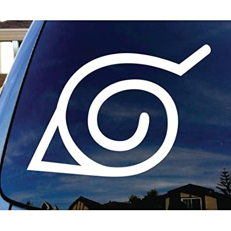 Naruto Vinyl Car Window Laptop Decal Sticker