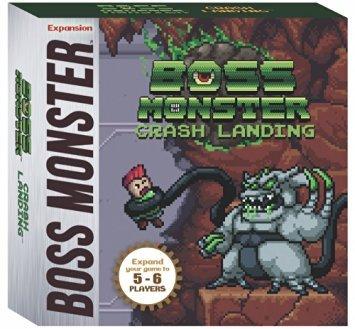Price comparison product image Boss Monster Crash Landing Board Game