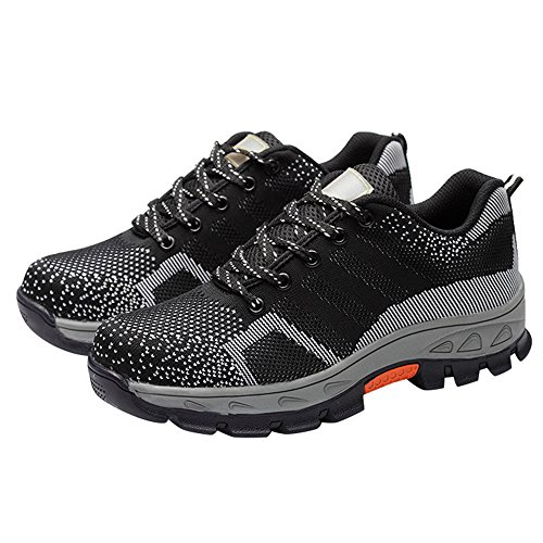 Shoes Black Toe Comp Shoes Work Shoes Steel Optimal Safety Men's HOqFPBP