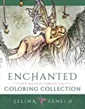 Enchanted - Magical Forests Coloring Collection (Fantasy Art Coloring by Selina)