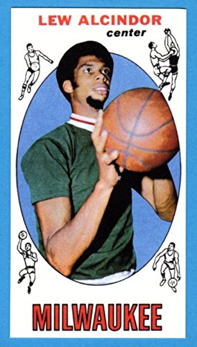 Lew Alcindor 1969 70 Topps Basketball Rookie Reprint Card Bucks