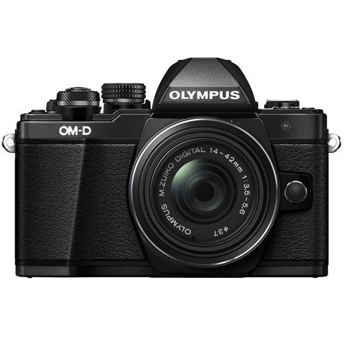 Olympus-OM-D-E-M10-Mark-II-Mirrorless-Digital-Camera-with-14-42mm-II-R-Lens-Black