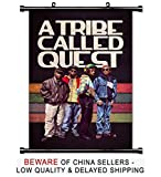 quest posters - A Tribe Called Quest Rap Group Fabric Wall Scroll Poster (16x25) Inches