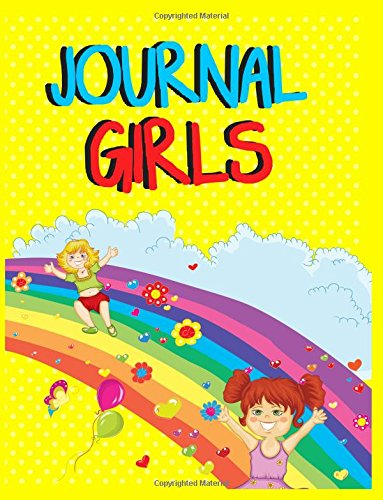 Journal Girls: 8.5 x 11, 108 Lined Pages (diary, notebook, journal, workbook)