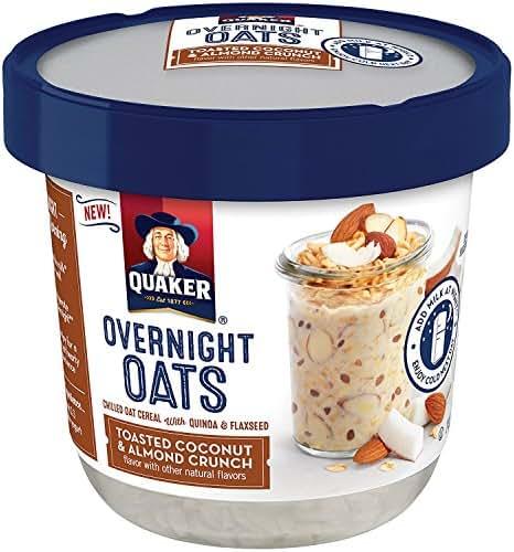 Oatmeal: Quaker Overnight Oats