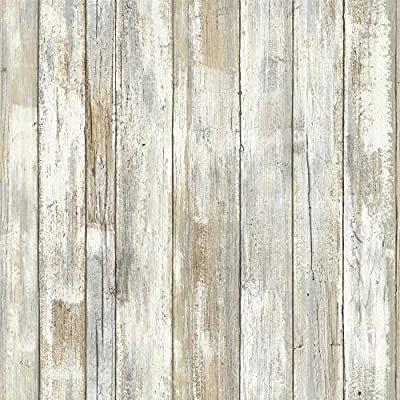 Roommates Distressed Wood Peel And Stick Wallpaper 28 Sq Feet Buy Online At Best Price In Uae Amazon Ae