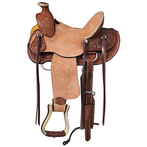 (Silver Royal Winslow Youth Wade Saddle 13in)