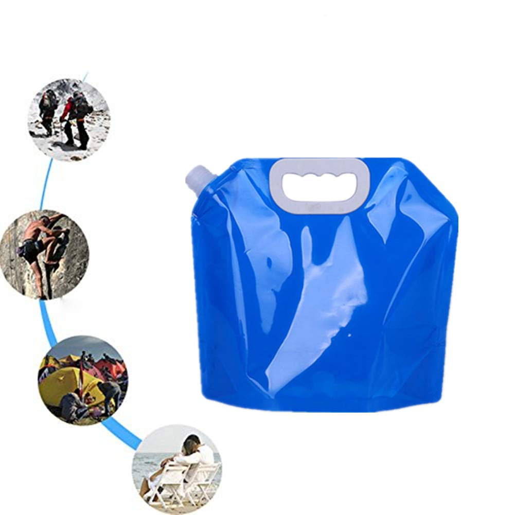 Protable Folding Water Storage Bag Camping Collapsible Liquids Container 5L RU Camping-Küchenbedarf