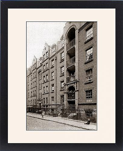 Framed Print Of Guinness Lodging Houses  Lever Street  London