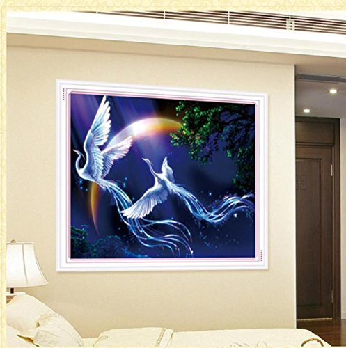Embroidery,Vovotrade 5D Embroidery Paintings Rhinestone Pasted diy Diamond painting Cross Stitch