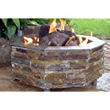 Firescapes The Virginian Octagonal Propane Fire Pit