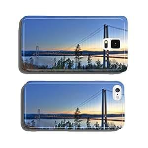 Bridge over Swedish fjord cell phone cover case iPhone6 Plus