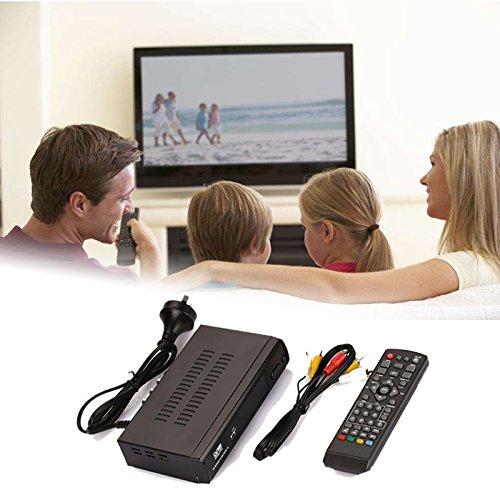 Hanbaili Digital TV Converter Box, (US Plug)AV HDMI HD Video Audio TV Box DVB-T2 F9 Digital Signal Receiver Set Top Box
