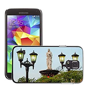 Hot Style Cell Phone PC Hard Case Cover // M00170256 Maracaibo Venezuela Statue Monument // Samsung Galaxy S5 S V SV i9600 (Not Fits S5 ACTIVE)
