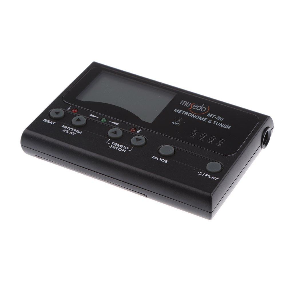 MagiDeal Musedo MT-80 3 in 1 Digital Tuner Metronome Tone Generator for Acoustic Guitar