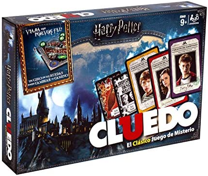 Winning Moves Cluedo Harry Potter 40X26-+9 Años, multicolor, Sin tañosllaños (ELEVEN FORCE 82288): Amazon.es: Juguetes y juegos
