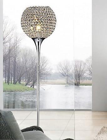 Lina 40w crystal floor light modern creative floor lamp send e27 lina 40w crystal floor light modern creative floor lamp send e27 bulb warm white aloadofball Choice Image