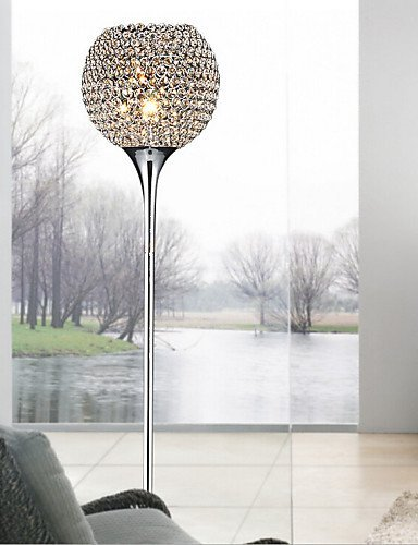 Lina 40w crystal floor light modern creative floor lamp send e27 lina 40w crystal floor light modern creative floor lamp send e27 bulb warm white aloadofball Gallery