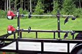 2 Place Locking Trimmer Rack for Open Trailers (PK6S-6S2) by Pack'em Racks
