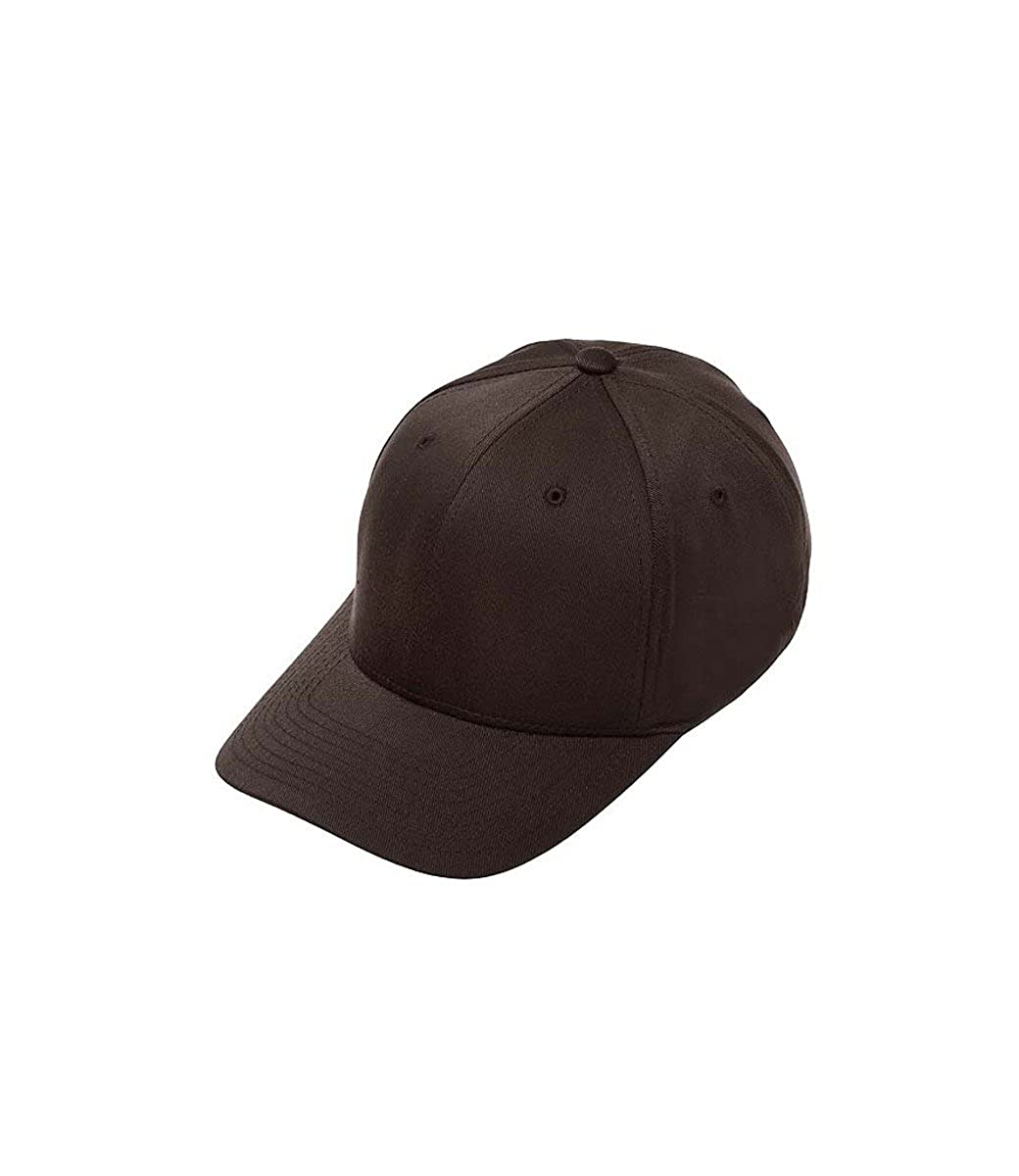 Flexfit Black Wooly Combed Stretchable Fitted Cap Kappe Baseballcap Basecap 6277