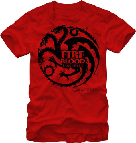 Game of Thrones – Targaryen Red Fire and Blood T-Shirt