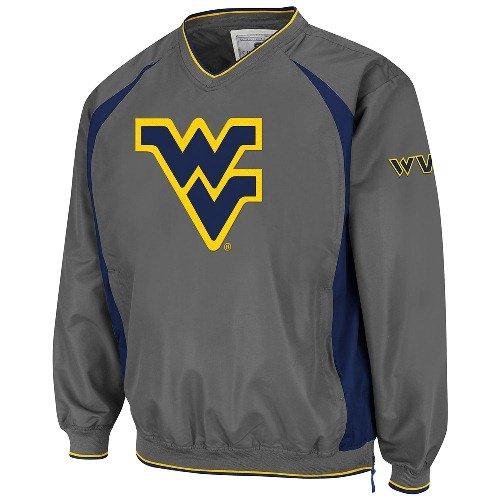 Hardball Pullover Jacket (West Virginia Charcoal Hardball Pullover Jacket - Small)