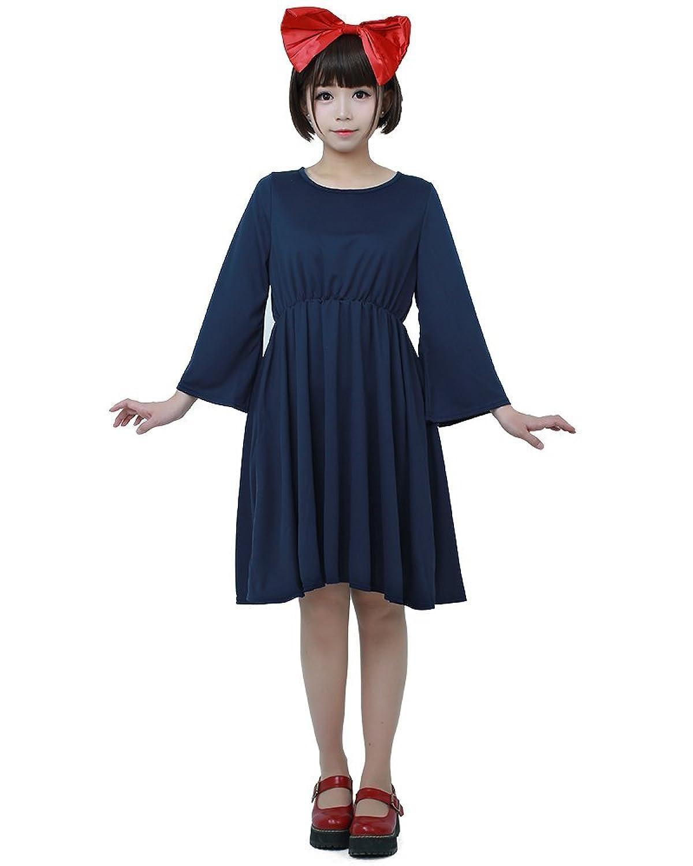 Amazon.com: Miccostumes Womens Kiki's Delivery Service Halloween ...