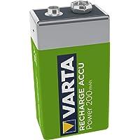 VARTA oplaadbare accu Ready2Use 9 V 200 mAh per stuk verpakt. 1er Pack groen