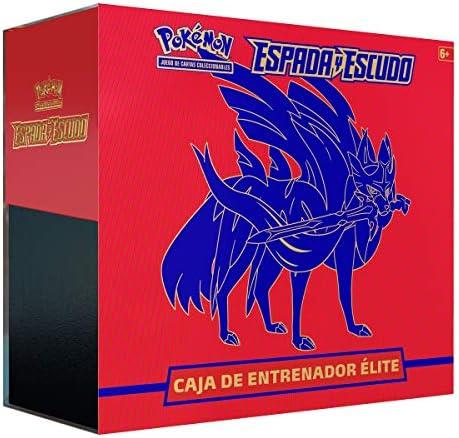 Pokemon - Caja Entrenador Élite ESPADA Y ESCUDO: Amazon.es: Juguetes y juegos