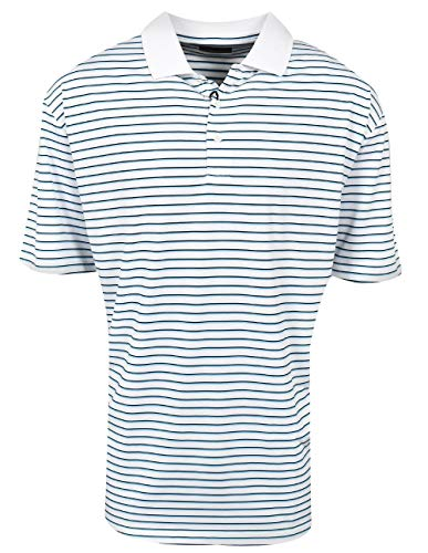 Jack Nicklaus Golf 3-Color Fineline Stripe Polo (Jack Nicklaus Golden Bear Golf Clubs Review)