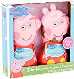 Peppa Pig 3 in 1 Body Wash, Shampoo & Conditioner Bubble Gum Scented Gift Set