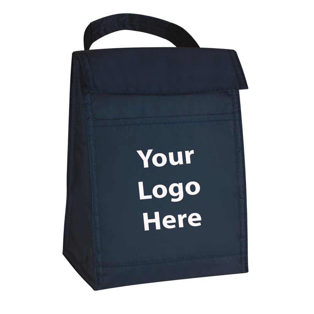 Budget Lunch Bag - 100 Quantity - $2.35 Each - Promotional Product/Bulk with Your Logo/Customized
