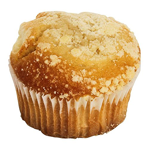 Cheese Muffin - Otis Spunkmeyer Delicious Essentials Cheese Streusel Muffin, 4 Ounce - 24 per case.