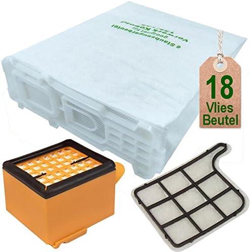 18 bolsas de aspiradora y juego de filtros para Vorwerk Kobold VK 135 y 136: Amazon.es: Hogar