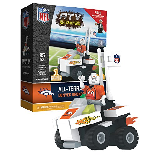 OYO Sports - NFL Denver Broncos NFL 4 Wheel ATV with Mascot ()