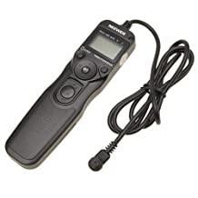 Neewer Timer Remote for Canon 50D, 40D, 30D, 20D, 10D, 5D,1Ds Mark III, 1D Mark III, 1D Mark II N, 1Ds Mark II,1D, 1V, EOS 3, D2000