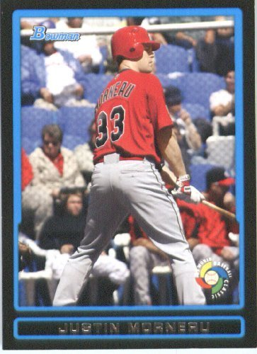 Justin Morneau - Canada (World Baseball Classic) 2009 Bowman Draft WBC Prospects Baseball Card # BDPW25 - MLB Baseball Trading Card