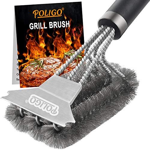 POLIGO Grill Brush and